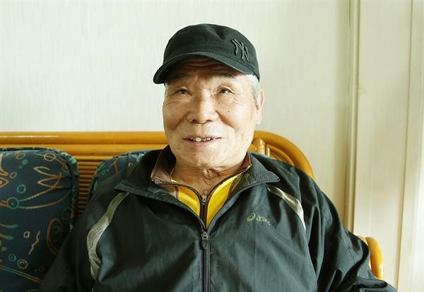 평산동에 사는 문정원(77) 어르신