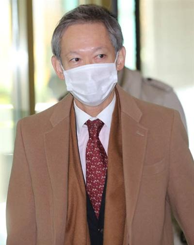다키자키 시게키 일본 외무성 아시아대양주 국장이 29일 오전 서울시 종로구 도렴동 외교부청사에 들어서고 있다.