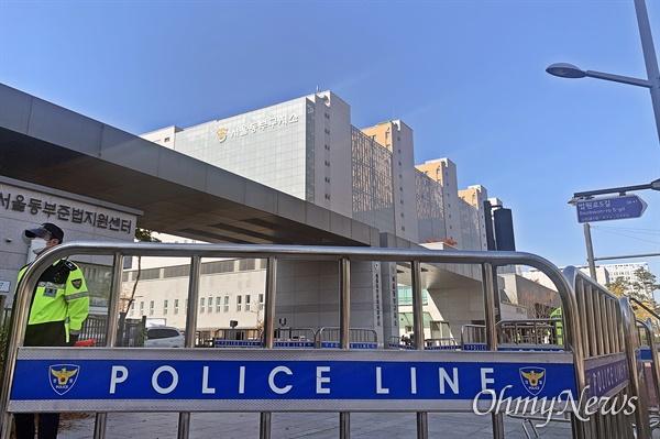 2일 이명박 전 대통령이 수감될 예정인 서울동부구치소의 모습.