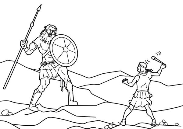 이것은 마치 다윗과 골리앗의 싸움.