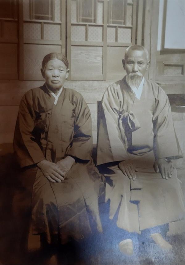 김상훈의 할아버지와 할머니