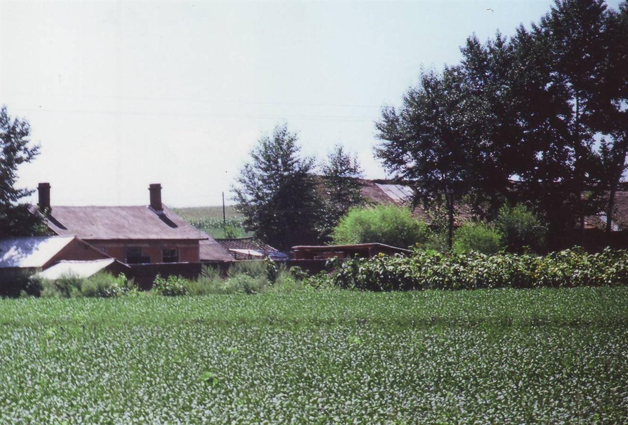 허형식 장군이 살았던 빈안진 조선인 마을