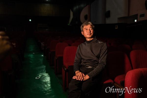 6.25전쟁 중 벌어진 태안 지역 민간인 학살을 다룬 영화 <태안>에서 피해자들의 인터뷰어로 출연한 세월호 희생자 유가족 김영오씨.