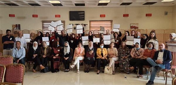 여성지원센터 수료식 모습