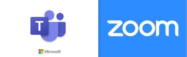 대표적인 화상회의 플랫폼 마이크로소프트 팀즈(Microsoft Teams)와 줌(Zoom)