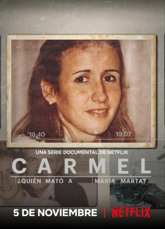 넷플릭스 오리지널 다큐멘터리 시리즈 <아무도 모르게 그녀가 죽었다> 포스터.