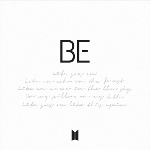 방탄소년단의 새 음반 'BE' 표지