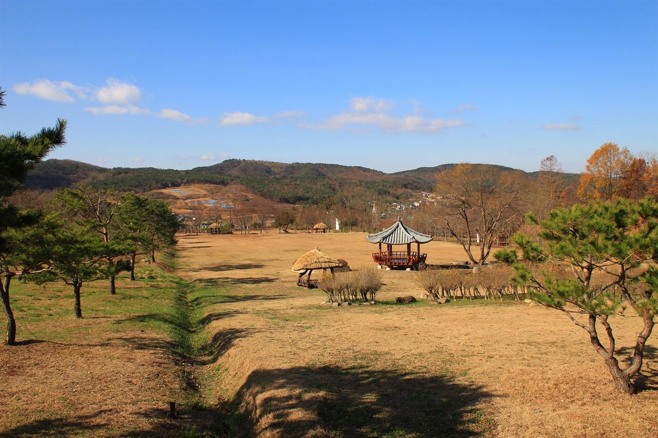 경주엑스포공원 화랑광장 전경