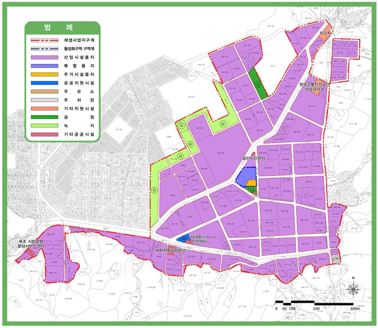 경기 성남시가 성남일반산업단지(성남하이테크밸리)의 산업시설용지에서 복합용지로 변경할 토지이용계획 변경 대상지를 민간사업자 공모를 통해 추진한다.