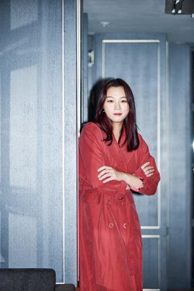 영화 <럭키 몬스터>에서 리아 역을 맡은 배우 장진희.