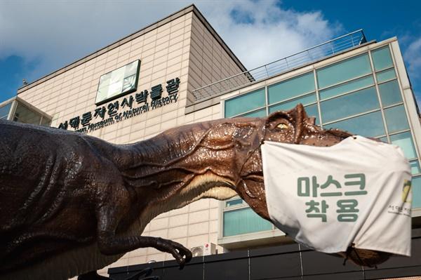 홍제천 인공폭포, 자연사박물관