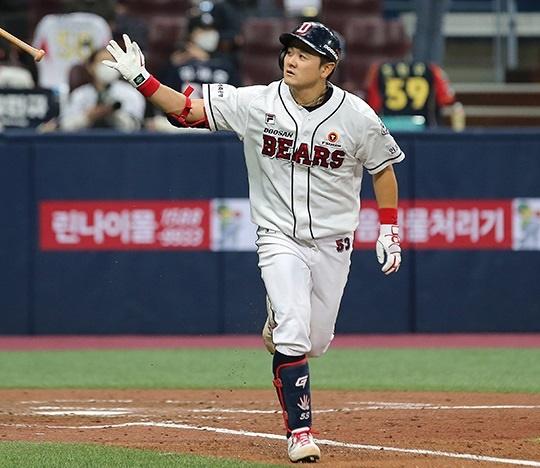 2020시즌 16홈런을 기록한 SK 최주환