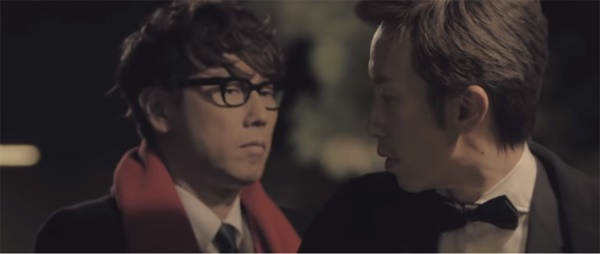 윤종신 'Merry Christmas Only You' 뮤직비디오 중 한 장면.