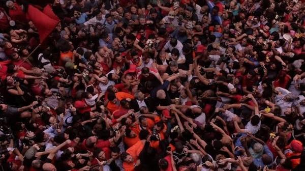 다큐멘터리 영화 <위기의 민주주의 : 룰라에서 탄핵까지> 스틸 컷