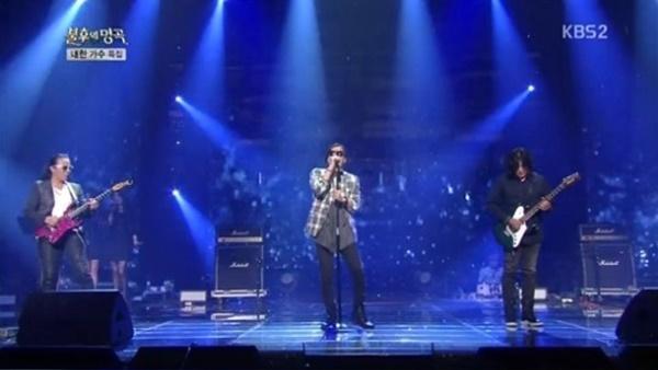 김종서는 지난 2014년 <불후의 명곡>에서 김태원,신대철과 함께 무대에 올랐다.