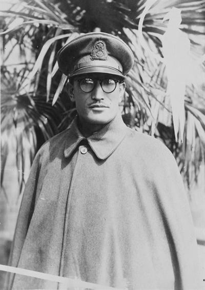 청산리 대첩 당시 북로군정서 연성대장이었던 철기 이범석(1900~1972). 해방 후 대한민국 초대 국무총리 겸 국방부장관을 역임했다.