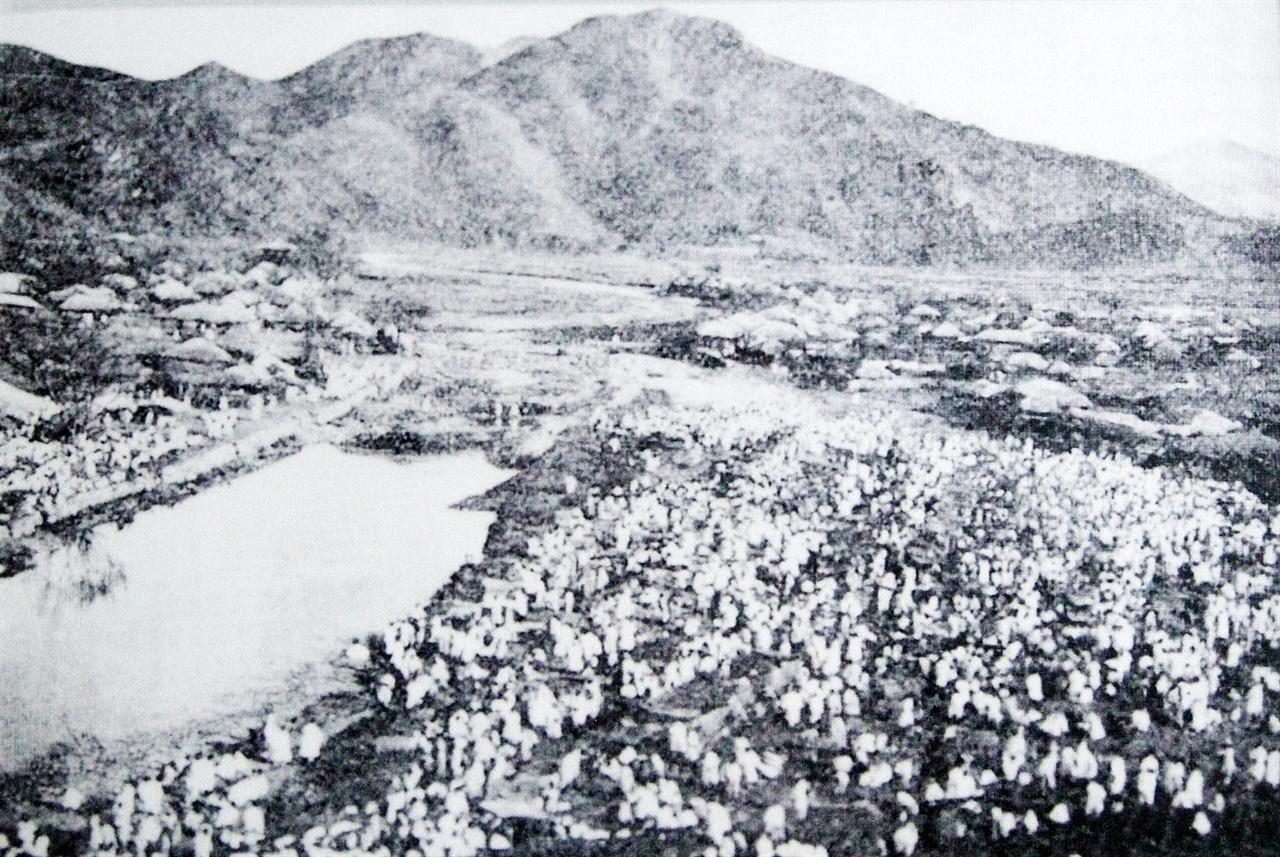 1905년 군산 장날 풍경
