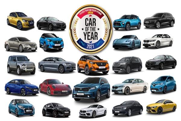 사단법인 한국자동차전문기자협회(회장 하영선)는 31일 '2021 대한민국 올해의차' 후보 30대를 선정해 발표했다.