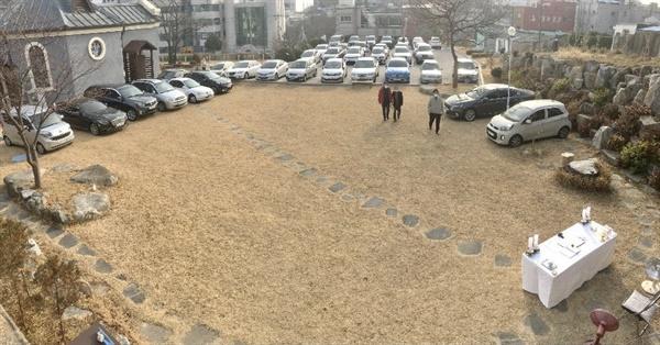 미사준비 묵호성당