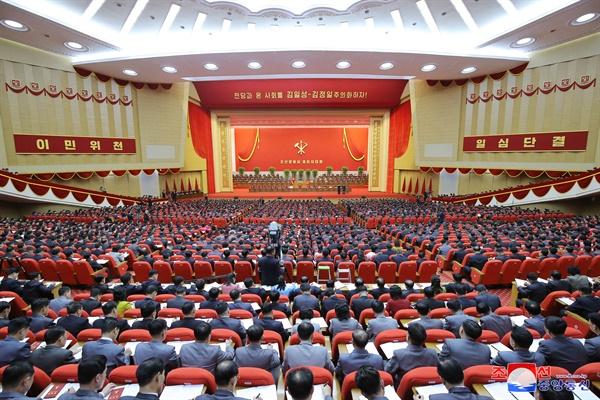 노동당 제8차 대회 개막 조선중앙통신이 지난 5일 평양에서 노동당 제8차 대회가 개막했다고 6일 보도했다. 2021.1.6