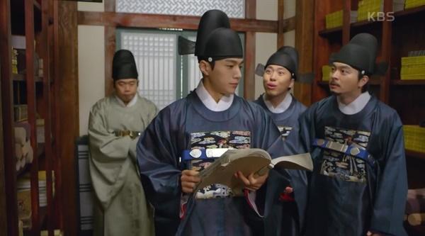 KBS2 드라마 <암행어사: 조선비밀수사단> 한 장면.