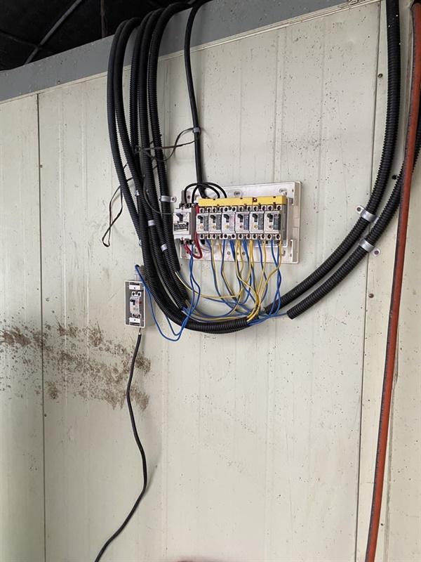 속헹씨 기숙사 전기공급장치
