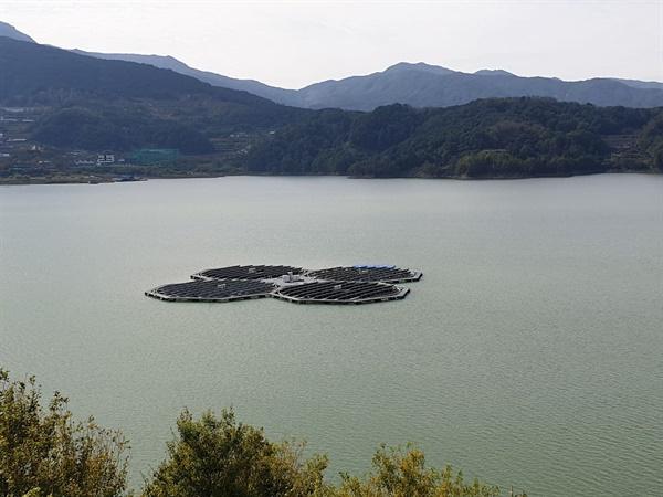 합천댐 수상태양광 100kW