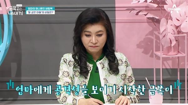 15일 방송된 채널A <금쪽같은 내새끼>의 한 장면