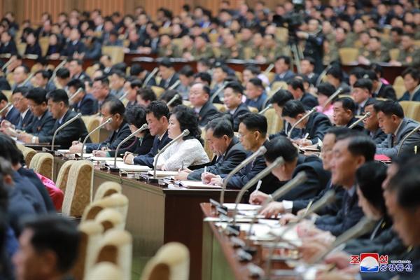 북한, 최고인민회의 개최 북한 최고인민회의 제14기 제4차 회의가 17일 평양 만수대의사당에서 진행됐다고 조선중앙통신이 보도했다. 2021.1.18