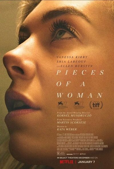 넷플릭스 오리지널 영화 <그녀의 조각들> 포스터.