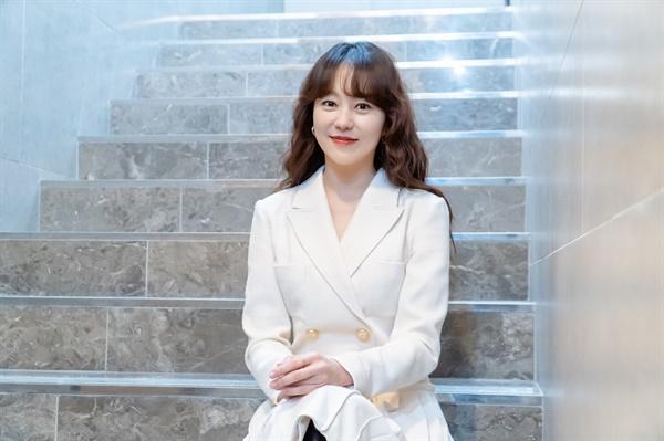 영화 <나는 나를 해고하지 않는다>에서 정은 역을 맡은 배우 유다인.
