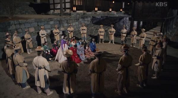 KBS2 <암행어서: 조선비밀수사단>의 한 장면