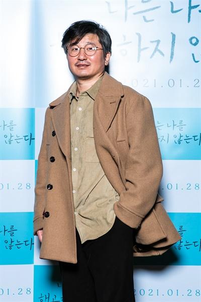 영화 <나는 나를 해고하지 않는다>를 연출한 이태겸 감독.