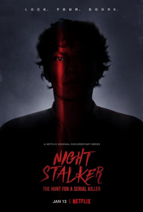 넷플릭스 오리지널 다큐멘터리 시리즈 <나이트 스토커> 포스터.
