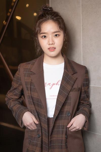 영화 <아이> 배우 김향기 인터뷰 사진