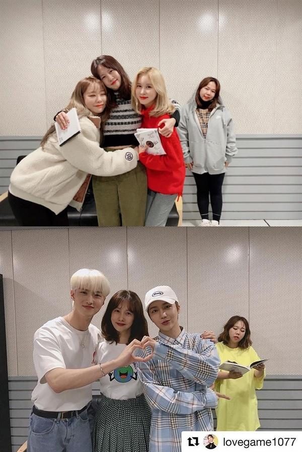 홍현희는 6년 넘께 고정출연한 SBS 파워 FM '박소현의 러브게임' 공식 SNS 속 독특한 설정샷으로 청취자들에게 웃음을 선사하기도 한다.