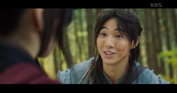 KBS2 <달이 뜨는 강> 한 장면.