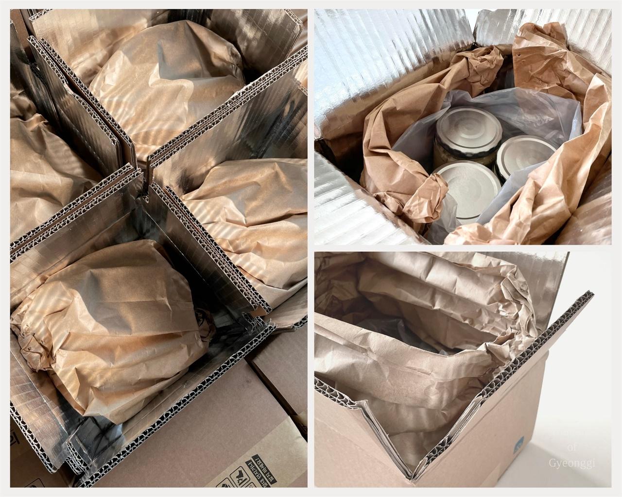 스프레드네이처는 친환경 포장재를 사용하기 위해 노력한다.
