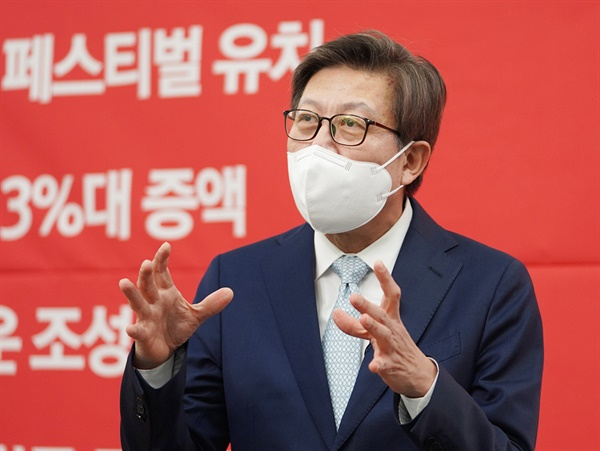 부산시장 보궐선거에 출마한 국민의힘 박형준 예비후보.
