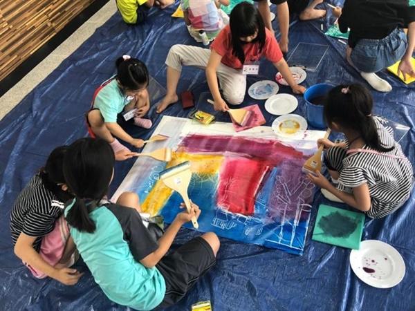 석봉미술관 동구리 어린이미술학교. 2020년은 코로나19로 인해 열리지 못했다.