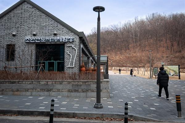 초안산, 조선시대분묘군