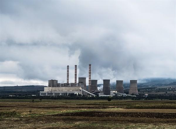 유럽의 한 석탄발전소(자료사진)