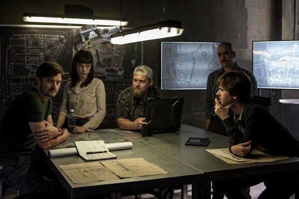 영화 <웨이 다운>의 한 장면.