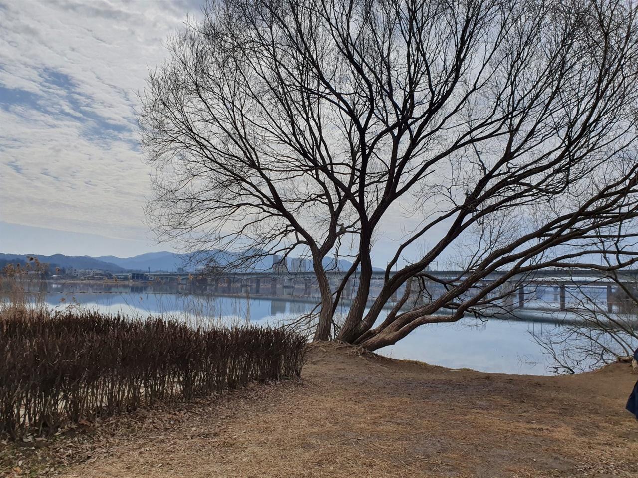 남양주 물의 정원 한강 자전거 길을 따라 북한강으로 갈라지자 마자 보이는 공원 한가롭고 여유로운 한강의 풍경을 즐길 수 있다