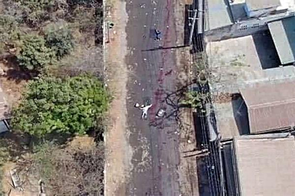 페이스북 '몽유와 시민 민주운동회'에 게시된 사진. 지난 3일 미얀마 몽유와의 모습을 담고 있다.