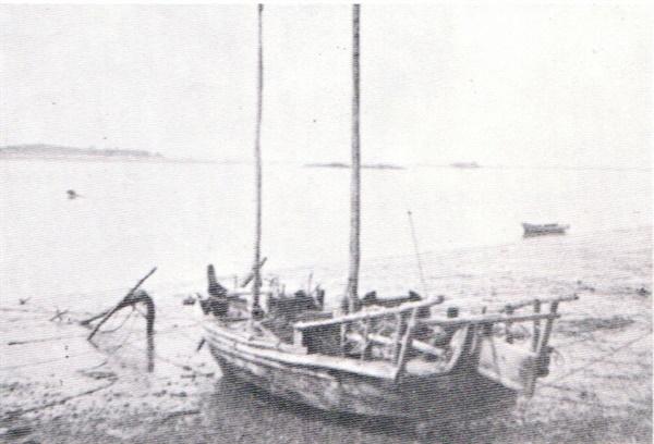 군산 지역 어민들의 생계수단이었던 3톤급 목선(50~60년대)