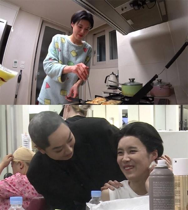 지난 2일 방영된 MBC '나혼자산다'의 한 장면.  공개코미디 무대를 잠시 떠나는 개그우먼 장도연의 이야기가 소개되었다.