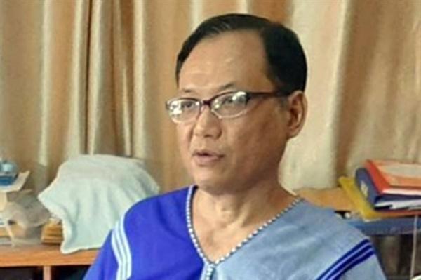 카렌민족연합(KNU, Karen National Union)의 소타니(Saw Taw Nee) 외무장관.