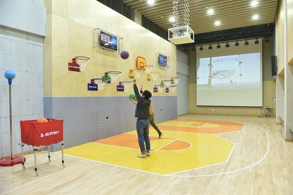 농구대가 있는 융복합스포츠 콤플렉스