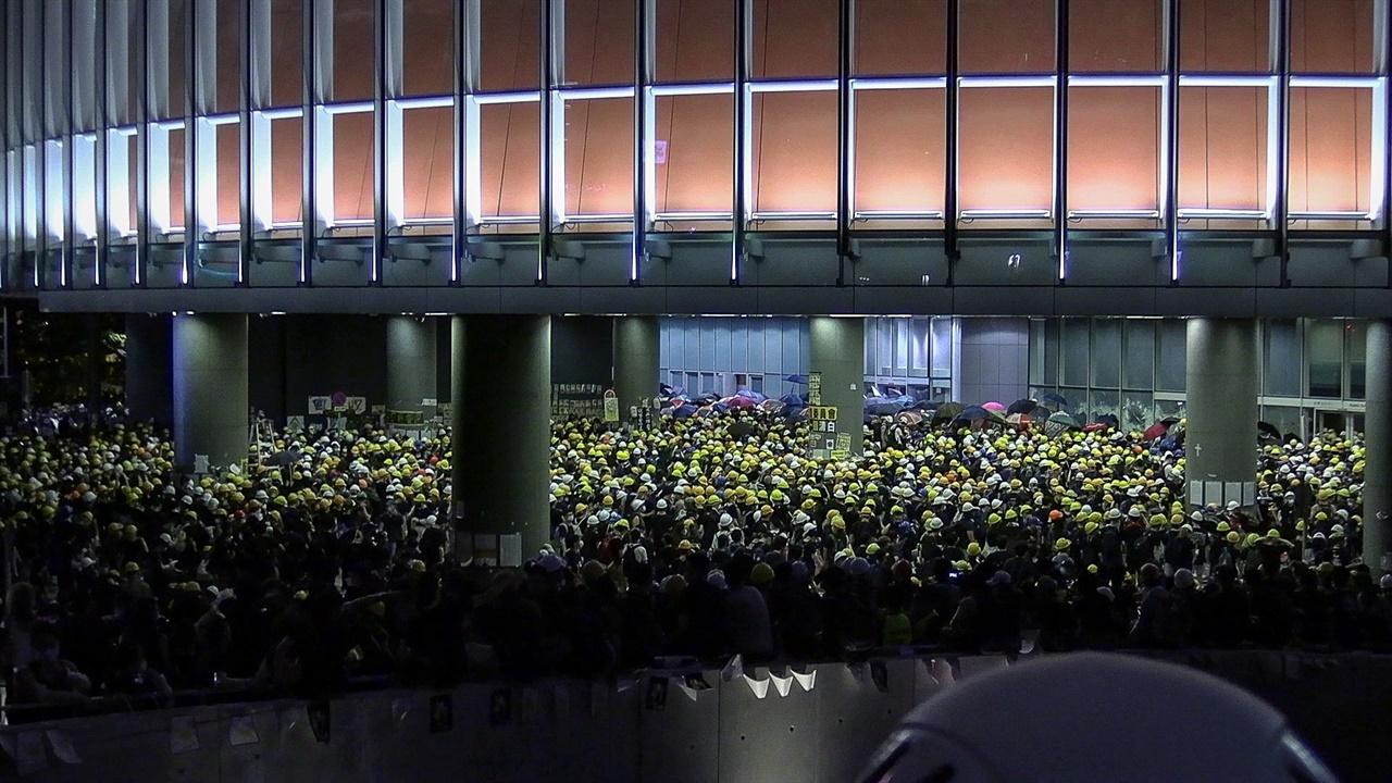 홍콩 민주화투쟁을 담은 <입법회 점령사건>